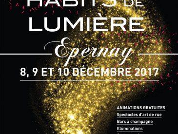 Le Champagne est en fête à Epernay, Habits de Lumière du 8 au 10 décembre 2017