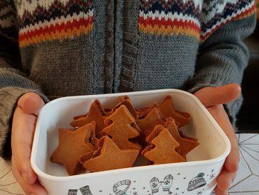 Sablés de Noël fourrés au chocolat [Noël 2017]