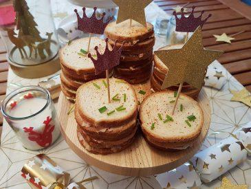 P'tits sandwichs gourmands pour l'apéro