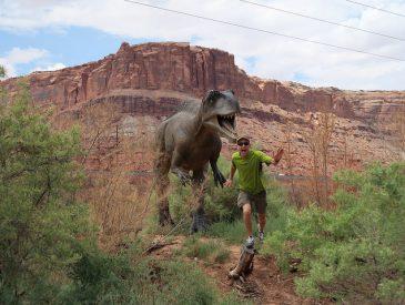 Sur la piste des dinosaures [Utah, USA]