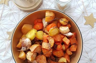 Légumes rôtis au four aux épices douces [Noël 2017]