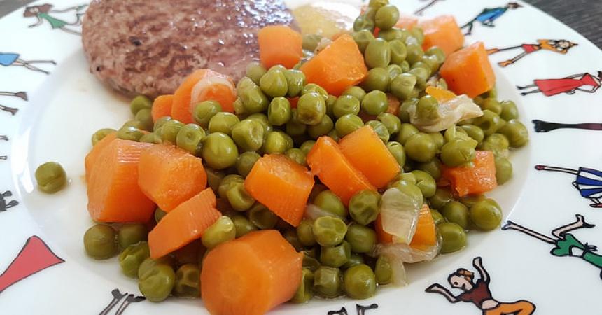 Les petits pois carottes meilleurs que ceux en bo te vite fait bien fait ma p 39 tite cuisine - Cuisiner petit pois carotte en boite ...