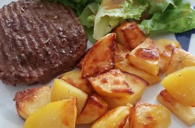 Pommes de terre rôties à la truffe