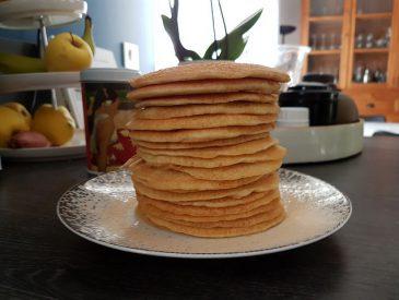 Pancakes légers [sans gluten & sans lactose]
