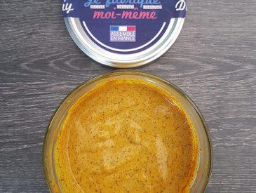 Ma recette de moutarde maison au miel