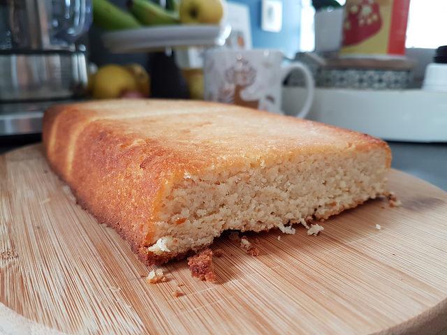 Pain-cake à la farine de coco