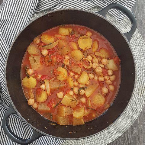 Couscous de légumes & semoule complète [le lundi c'est veggie]