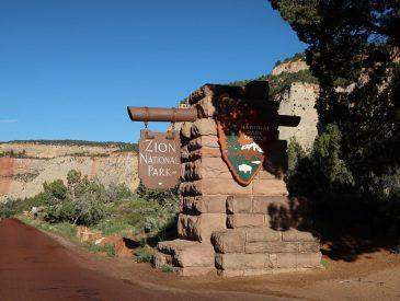 Le Parc National de Zion & randonnée The Narrows