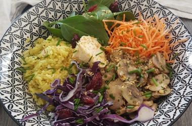 Riz coco & coriandre pour un Buddha Bowl