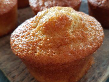 Muffins au nougat blanc pour le goûter