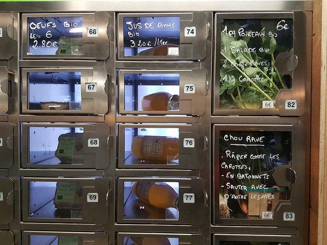 Des légumes bio au Parc-Relais Bordeaux- Le Bouscat