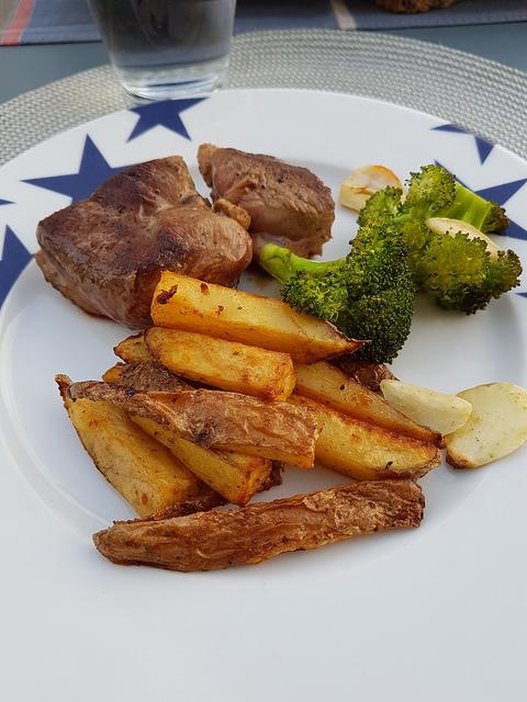 Frites au four rustiques ma p 39 tite cuisine - Ma p tite cuisine ...