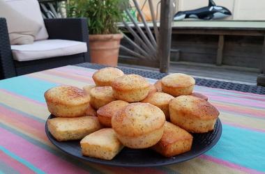 Mini cakes citron & pavot