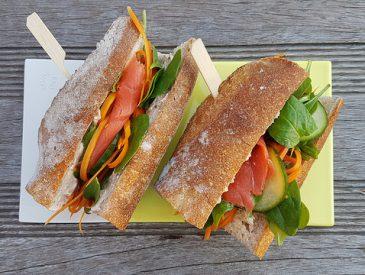 Sandwich un peu comme un Banh mi