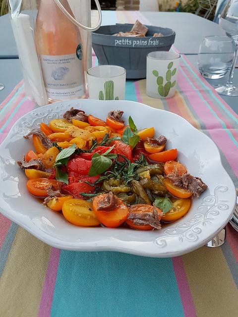 Salade De Poivrons Grilles Audrey Cuisine