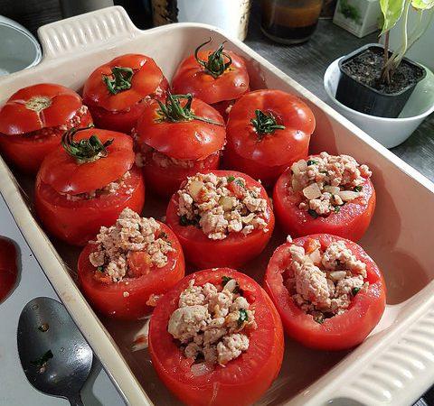 La Meilleure Recette Des Tomates Farcies Audrey Cuisine
