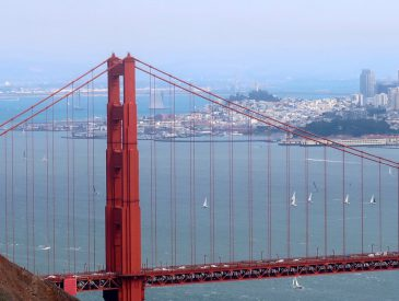 Le Golden Gate Bridge de San Francisco [Californie]