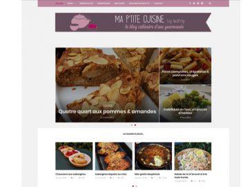 Ma P'tite Cuisine, mon blog tout beau tout neuf
