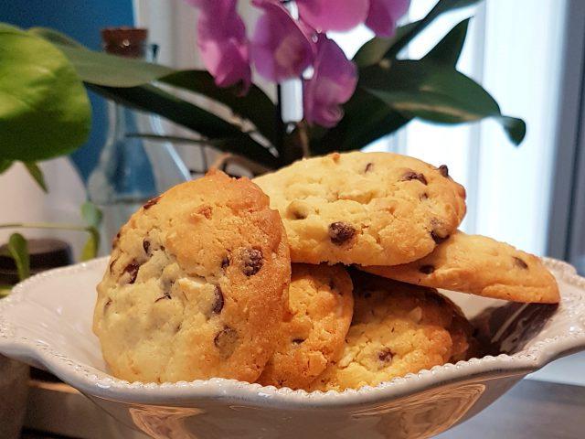 Cookies aux amandes & pépites de chocolat