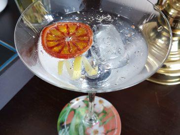Cocktail Gin & Bergamote
