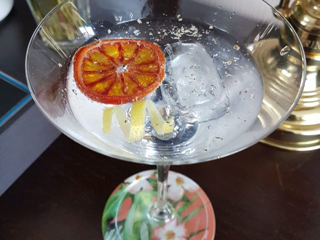 Cocktail Gin & Bergamote