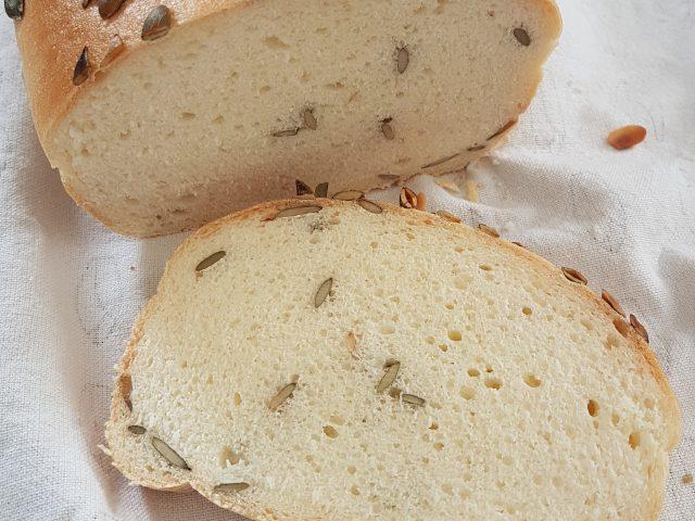 Recette du pain de mie sans gluten aux graines de courge