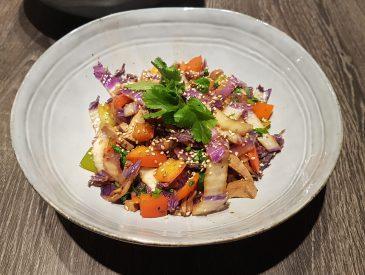 Wok de légumes & tofu au sésame