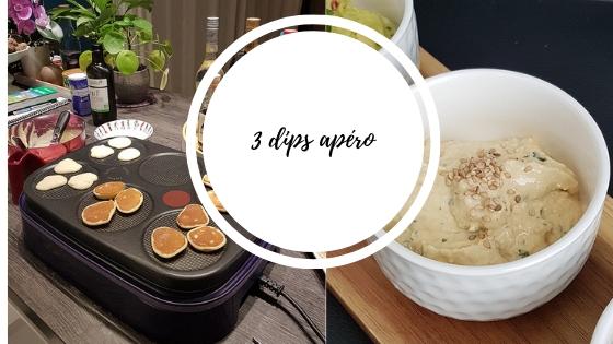 3 recettes rapides de tartinades et blinis apéro