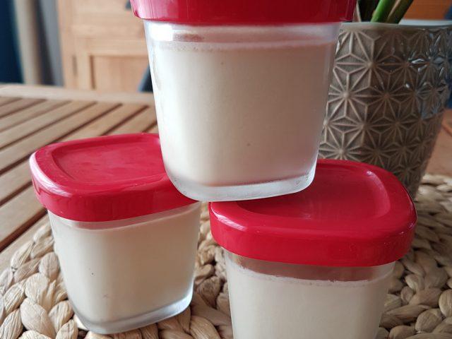 Mes crèmes au chocolat blanc caramélisé à la Multi Délices