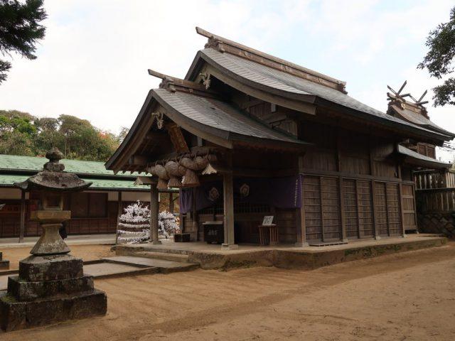 Hakuto-jinja, le sanctuaire du lapin blanc