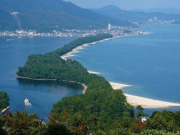 Amanohashidate, une des plus belles vues du Japon
