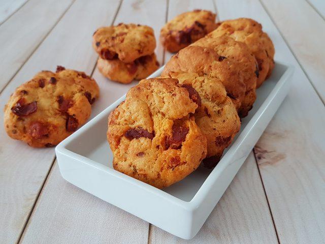 Cookies chorizo et tomates séchées