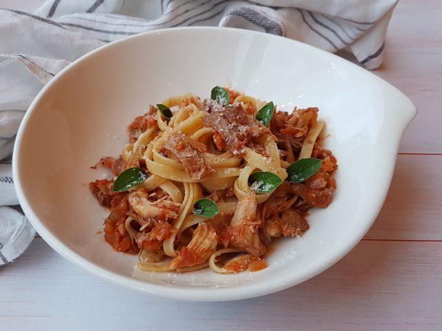 Lapin en sauce à l'Italienne