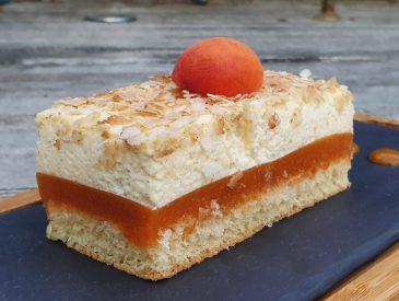 Mon entremet abricot et vanille
