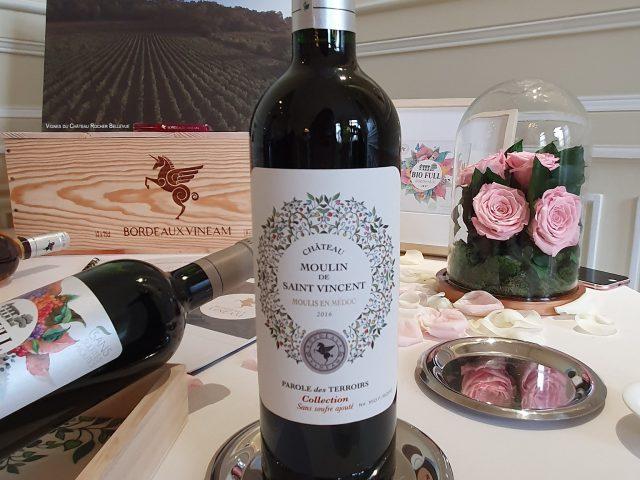 Découverte des vins bio et sans sulfites de Vineam Bordeaux