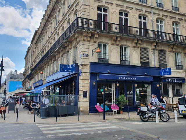 Restaurant La Belle Epoque, Bordeaux