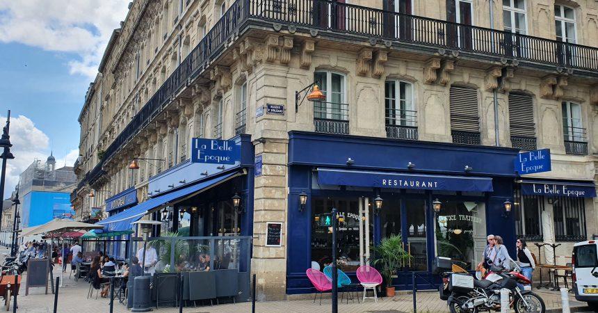 Restaurant La Belle Epoque Bordeaux
