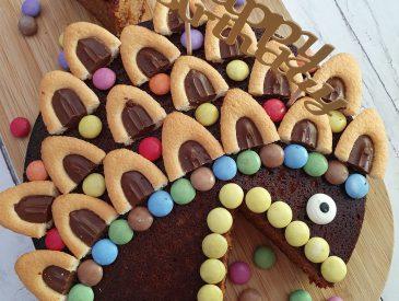 Gâteau anniversaire enfant poisson