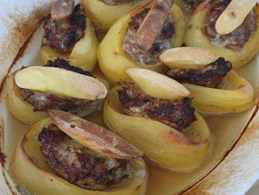 Les pommes de terres farcies