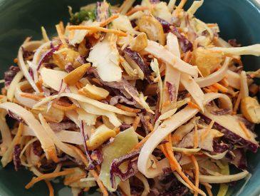 Coleslaw aux noix de cajou
