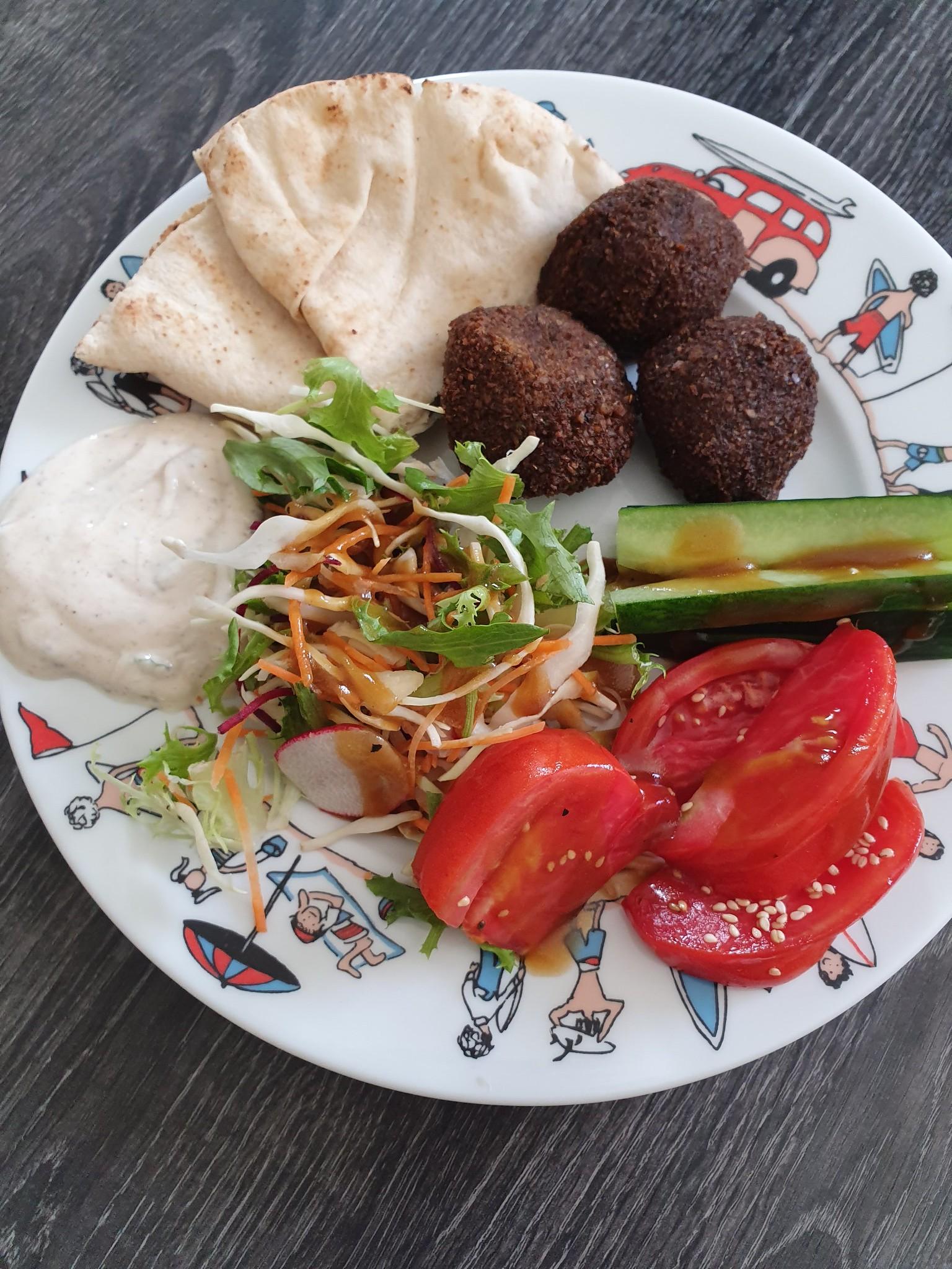 Recette des Tamya ou falafels egyptiens