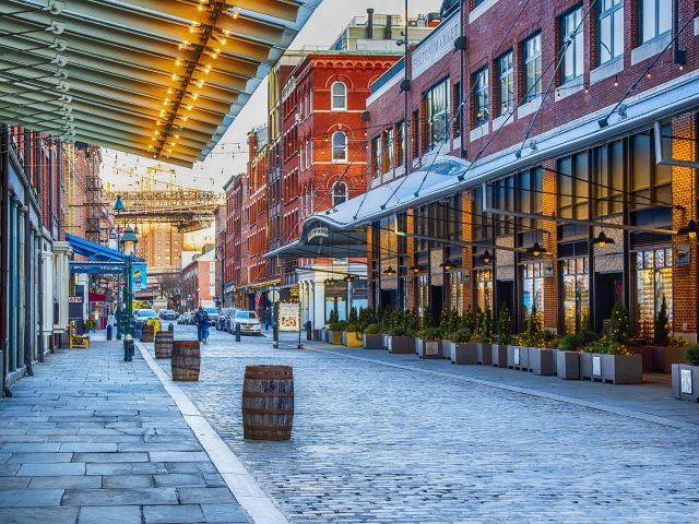 New York, South Street & Seaport District