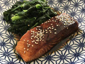 Pavés de saumon sauce Teriyaki
