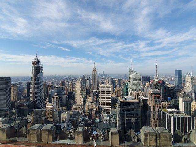 Top of the Rock et la High Line, New-York