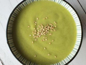 Vide frigo #02 : velouté de vert de poireaux