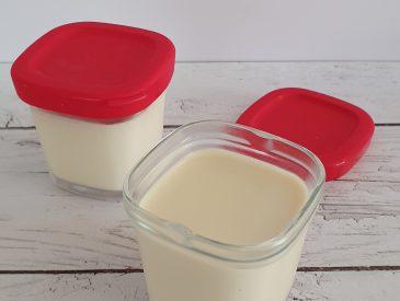 Réussir les yaourts au soja et à la vanille dans la multidélices