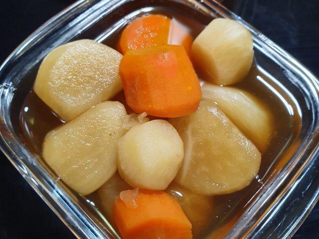 Recette de Nimono, les légumes mijotés à la japonaise