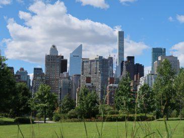 Central Park et le Muséum d'Histoire Naturelle de New-York