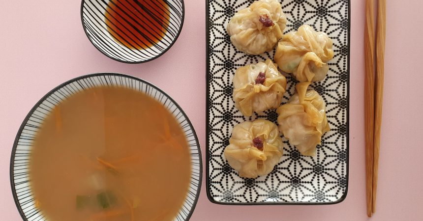 Raviolis chinois cook expert