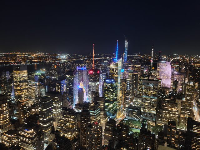 Brooklyn by night & l'Empire State Building
